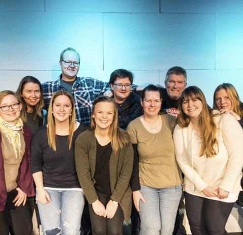 Klare: Revygjengen i Hvarnes er klare med sin 76. revy og lover humor, sang og masse glede fra scenen.