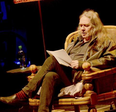NY BOK: Ingvar Ambjørnsen holder på med finpussen på en ny bok om Elling. (arkivfoto)