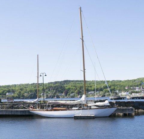 Til sjøs: Vakre Maribell er en av båten som tar gjester ut på fjorden denne søndagen.