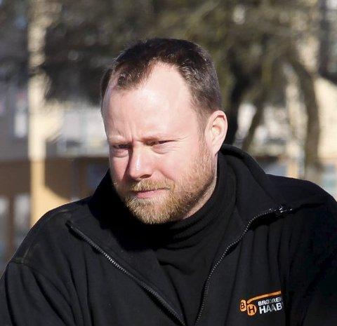 Ærlig: Anders Haaby skriver ærlig. Arkivfoto