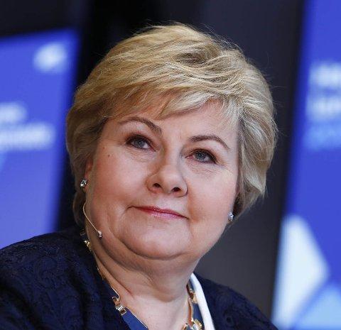 TIL MO:  Statsminister Erna Solberg kommer til Agenda Nord-Norge-samlingen. Foto: Terje Pedersen