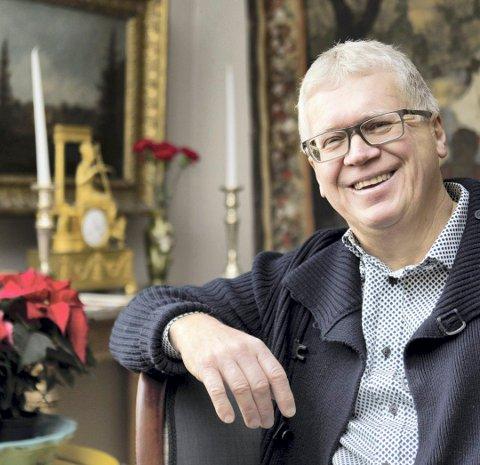 JUL: Geir Thomas Risåsen er frustrert over «altfor tidlig-julen».