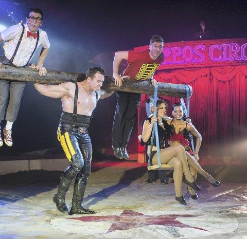 STERKT: Denis Ilchenko er både stor og sterk. Han er årets hovedattreaksjon hos Cirkus Arnardo 2. mai i Slemmestad Idrettspark. Foto:  Piet-Hein Out