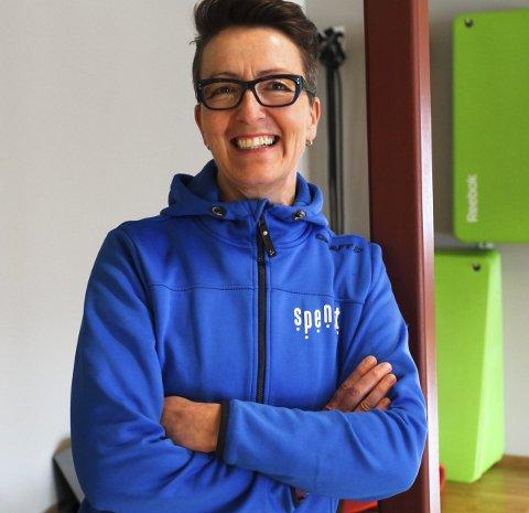 Motivator:– Det har vært kjempemoro å bli kjent med May Jorun, sier «PT» Elin Aasheim. Foto: Lena Malnes