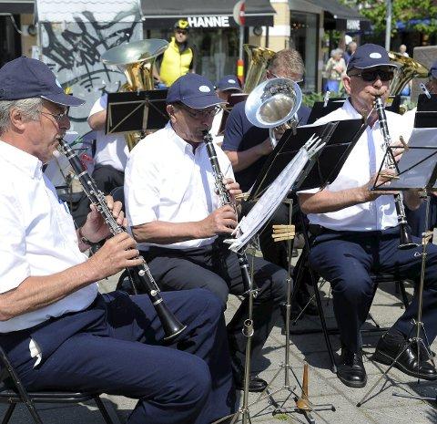 VETERANER: Sandefjord Veteranensemble har konsert fredag kveld.