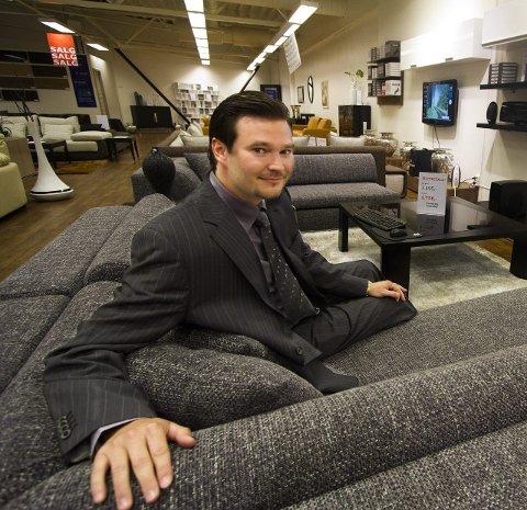 BARCELONA: Tim Thøgersen  tar med seg møbelkjeden Rocka til Spania og et kjøpesenter utenfor Barcelona.