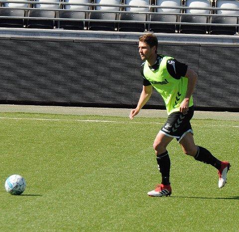 TILBAKE: Fredrik Semb går inn igjen på Odd-laget som møter Molde på bortebane søndag. Foto: Hans Eivind Øygarden