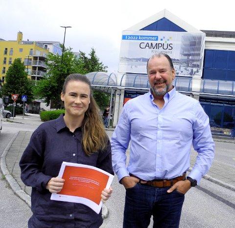 Siri Aarland i Vindel AS gir råd om hvordan Steinar Ludvigsen skal lykkes med gründerdrømmen om kråkebolle-industri i stor stil langs kysten.