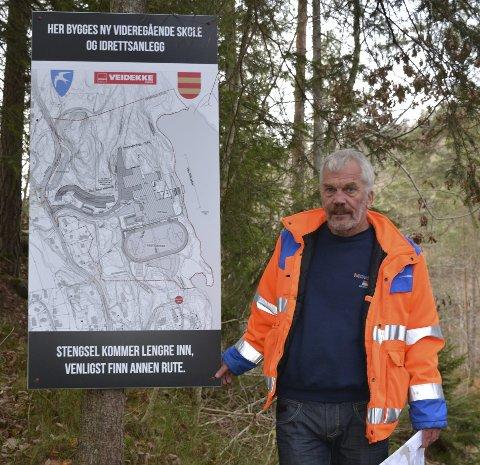 Skal ansette: Avdelingsingeniør Arne Thorvald Aanonsen.