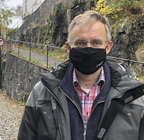 Kommuneoverlege Hans Tomter er blitt varslet om et nytt smittetilfelle i Tvedestrand. Arkivfoto