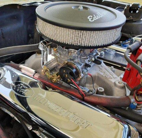God, gammel buldring fra en ekte V8-er blir sjelden feil.