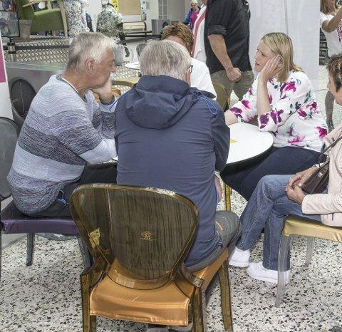 Besøker Sunndal: Forrige gang Sylvi Listhaug var i Sunndal møtte hun folk i butikksenteret.
