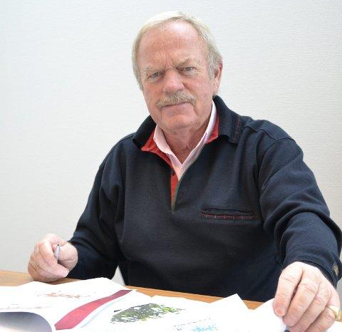 Ikke smart: Det vil ikke være smart av kommunen å selge ut skolene, mener eiendomsinvestor Arild Åserud.