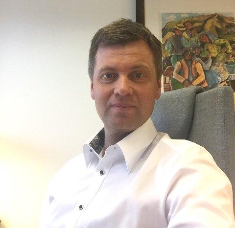 OVERTAR: Torleif Lilløy er tilsatt som ny sjef for Odal Sparebank.
