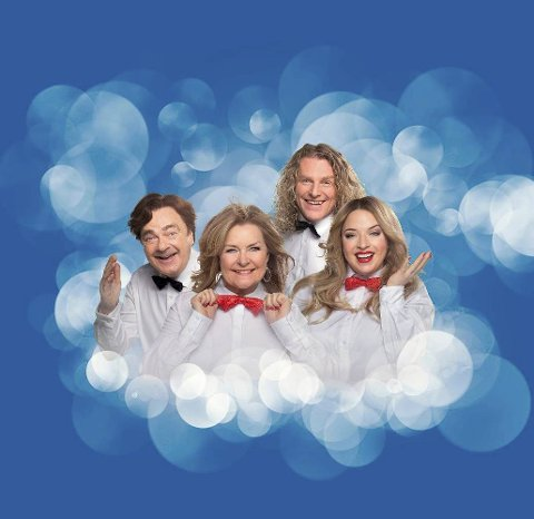 Humor og jul: Med Øivind Blunck, Bettan, Trond Nagell-Dahl og Reidun Sæther, i Rådhus-Teatret.