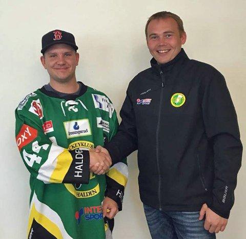 Tobias Skaarberg ble lørdag enig med Comet og Runar Eidissen.