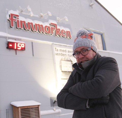 BRRRR: Kulda kan by på så mye. Som etablering av tidvis en anelse sjenerende hemoroider for journalist Kenneth Strømsvåg.