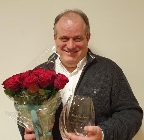 Frode Woldsund er utnevnt til æresmedlem i Nordstrand KrF