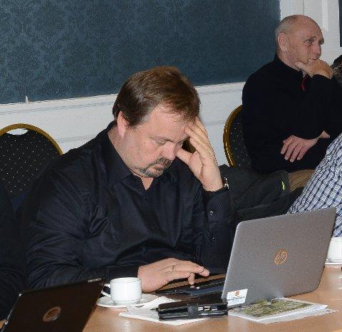 LEDER KONTROLLUTVALGET: Geir Thomas Finstad er leder i det nye kontrollutvalget.