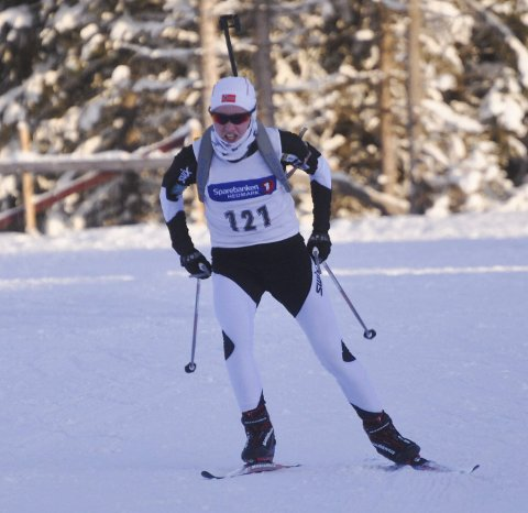 Hårete mål: Even Mangset håper han kan kjempe om en medalje under helga junior-NM på Simostranda.Arkivfoto