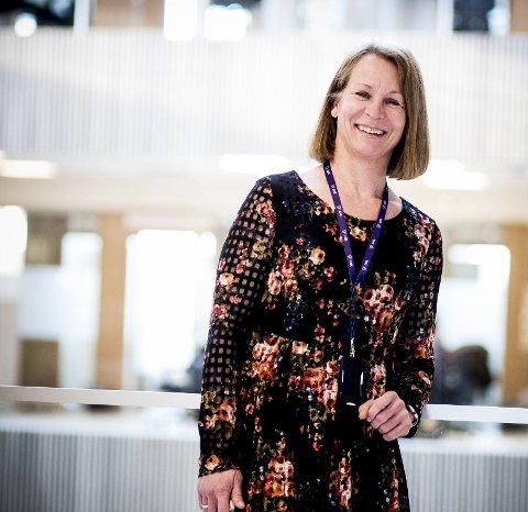 Siri Skumlien skal lede LHL-sykehuset på Jessheim inn i framtida. Hun innrømmer at de to første driftsårene blir økonomisk krevende. LHL skal betale rundt 100 millioner i årlig leie av sykehuslokalene. Foto: Tom Gustavsen