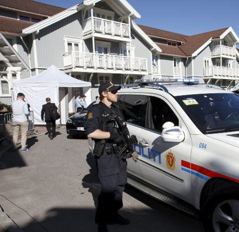 STORT SIKKERHETSOPPLEGG: Også i år vil det være et stort sikkerhetsopplegg rundt Losby Gods, i forbindelse med fredskonferansen Oslo Forum.ARKIVFOTO: SCANPIX