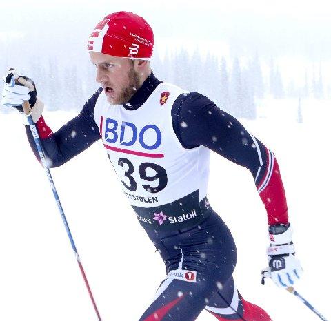 KAN BEDRE: Espen Udjus Frorud fikk ingen kjempestart på sesongen og ble nummer 46.