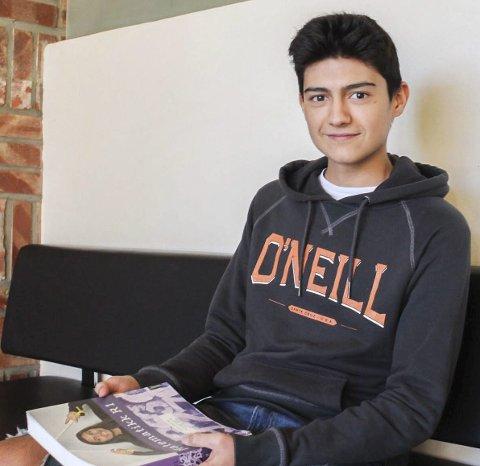 Fornøyd med valget: Pablo Colomer (15) er glad han valgte                    Norge, og gleder seg til resten av året.