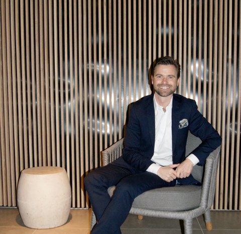TIL LANGESUND: Paul Wegar Dørdal blir hotelldirektør på Skjærgråden.