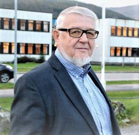 Mellvin Steinsvoll styreleder Pensjonistforbundet Møre og Romsdal