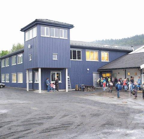 Grendeskole: Songe skole har i overkant av 70 elever.