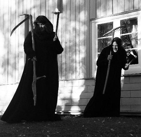 Skummelt: Sist i oktober kan du treffe dauingar, haugafolk og skrikande skrømt i Valdres.