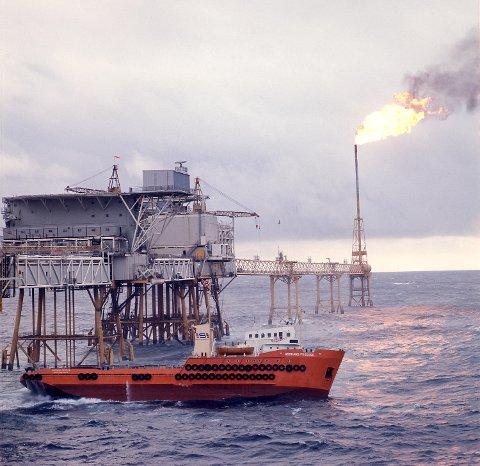 Mindre bygging av skip og plattformer er den viktigste årsaken til at norsk industriproduksjon falt fra 2014 til 2015. FOTO: SVEIN HAMMERSTAD, NTB SCANPIX