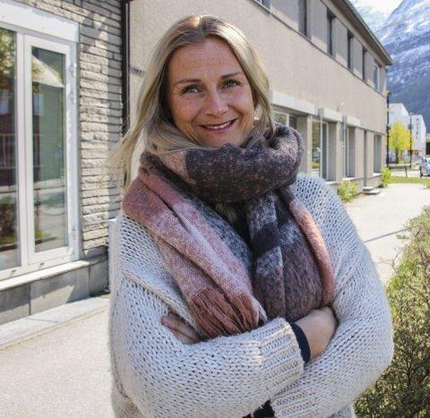 Vertskap: Rachel Bråten er vertskapsansvarlig for alle som skal overnatte på Sunndal ungdomsskole. Hun gleder seg til årets artigste og travleste helg.