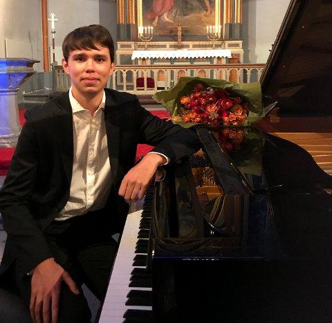 ÅRETS VINNER: Vinner av Midgardprisen 2018 ble Mikhail Zaruykin med sin tolking av Prokofievs «Sonate nr. 3».