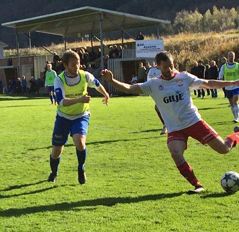 Stig Are Gilja var blant Dirdal-spillerne som var i storform.