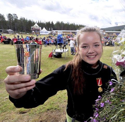 SKYTING: Mette Strandlien–Ringebu & Fåvang Skytterlag.