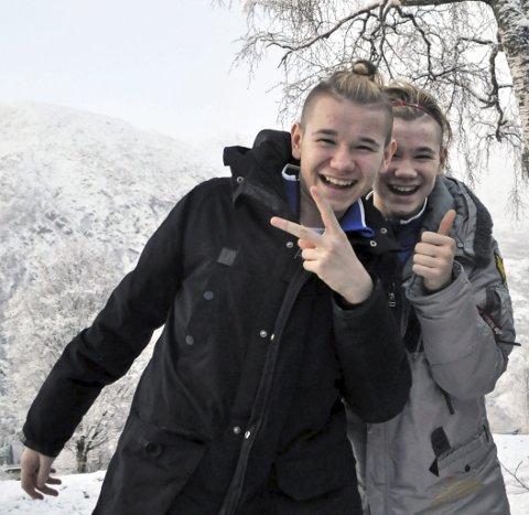 Marcus (t.v.) og Martinus Gunnarsen