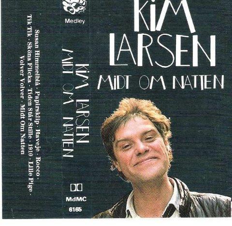 SMØRBLID UNGDOM: Kim Larsen.