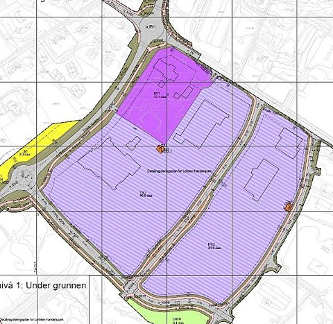 Reguleringsplanen for Lofoten handelspark. Avkjørselen på E10, med adkomst til Esso, må stenges sier vegvesenet.