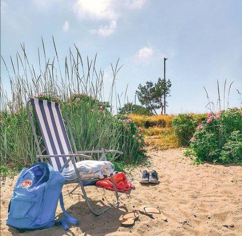 SOLSTOL: Det er kanskje like greit å finne seg en plass på en strand i mossedistriktet den kommende helgen, skal vi tro meteorologen.