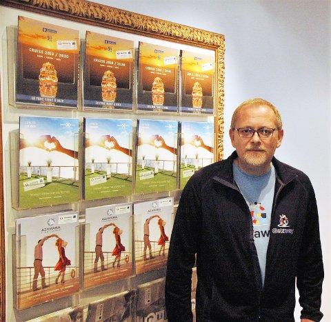 BYRÅLEDER: Bjørn Fredrik Bratsberg(44) er veldig fornøyd etter å ha flyttet til båkgården.