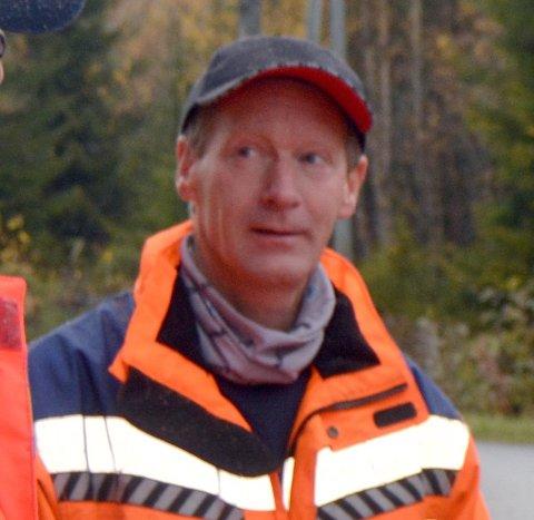 VANT ANBUD: Gunnar Bjørgo i Presis vegdrift.