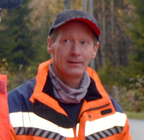 SPENNENDE DAGER: Gunnar Bjørgo hos Presis Vegdrift forteller at de venter på svar fra Vegvesenet om hvem som skal drifte riksvegnettet i Valdres og Hallingdal i åra som kommer.