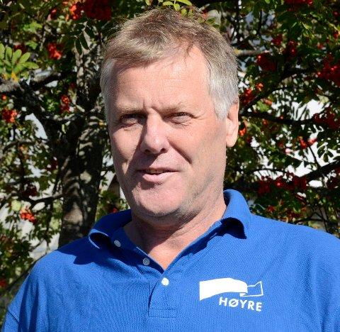 NY PERIODE: Jon Hovland har valgt å gå på nok en periode som toppkandidat for Modum Høyre.