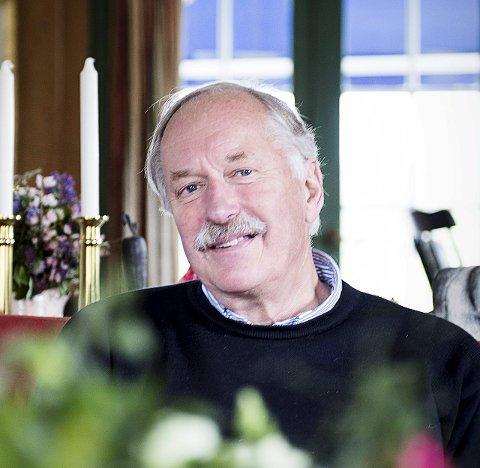 Arbeidshest: Johan Kaggestad slutter ikke å jobbe selv om pensjonsalderen er nådd.FOTO: Ciclie S. Andersen