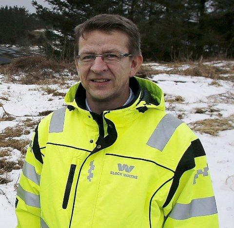 FLYTTER: Daglig leder Knut Tindeland tar med seg Dommersnes & Larsen fra Vikebygd til Haugesund.