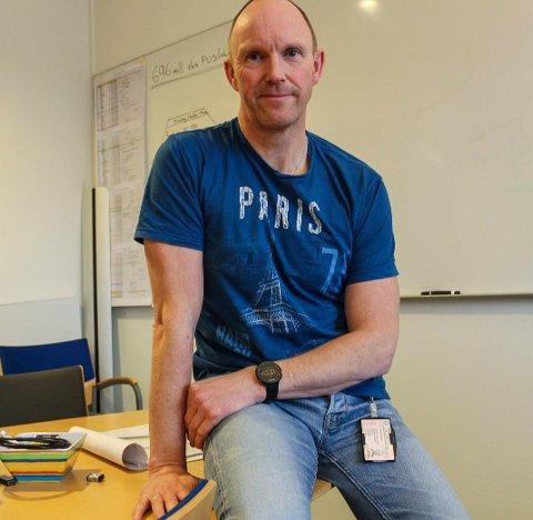 Ørjan Rosvold, byggeprosjektleder Eolus vind / Øyfjellet Wind AS venter på svar fra NVE.