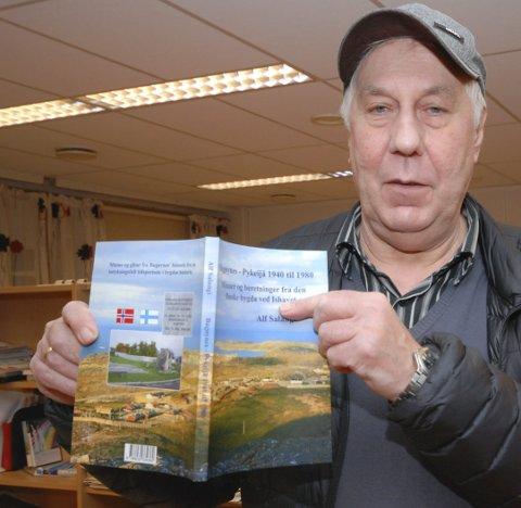 FØRST SAUNA...SÅ: Alf Salangi fulgte oppfordringene han fikk i 2010 om å skrive en oppfølger til den første boka. FOTO: ALF HELGE JENSEN