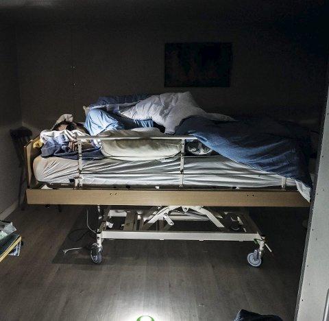 Sjuk: Eirik André Aksnes er råka av alvorleg ME-sjukdom. (Arkivfoto).